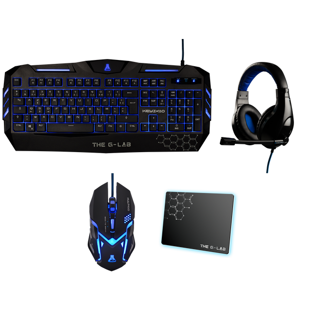 The G-Lab - COMBO300/FR - Pack Clavier Souris