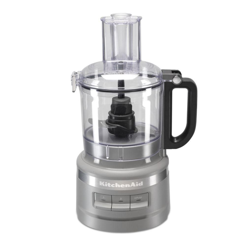 Kitchenaid kitchenaid - robot ménager multifonction 1.7l 250w gris mat - 5kfp0719efg