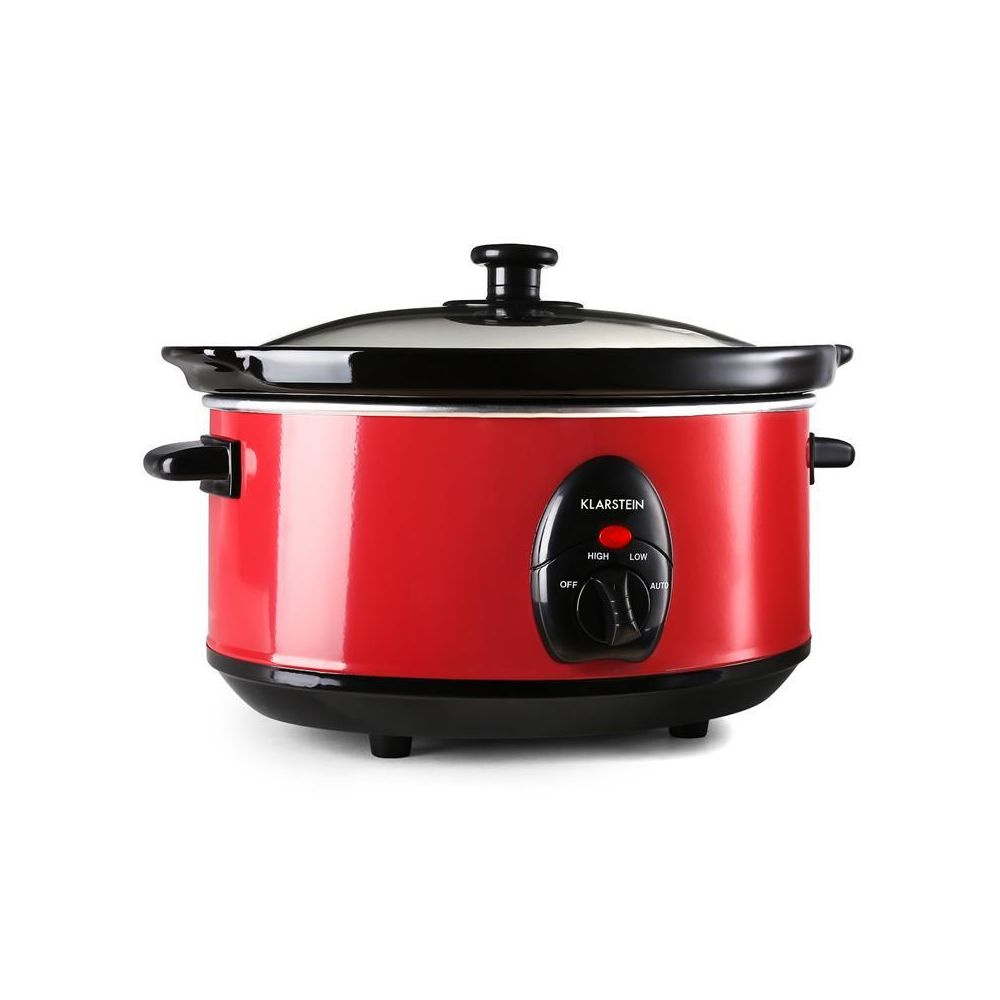 Klarstein Klarstein Bristol 35 Slow Cooker Mijoteuse 3,5 litres 200W - rouge Klarstein