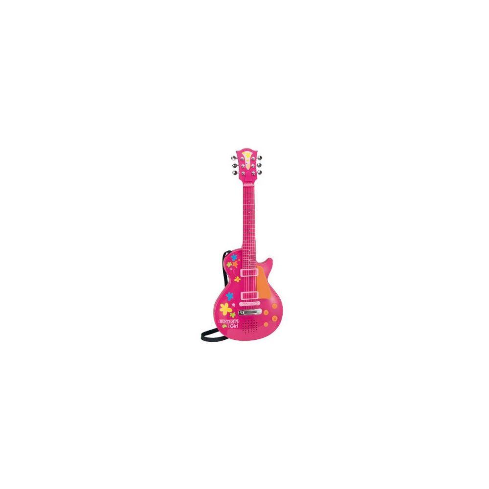 Bontempi Guitare rock électronique IGirl