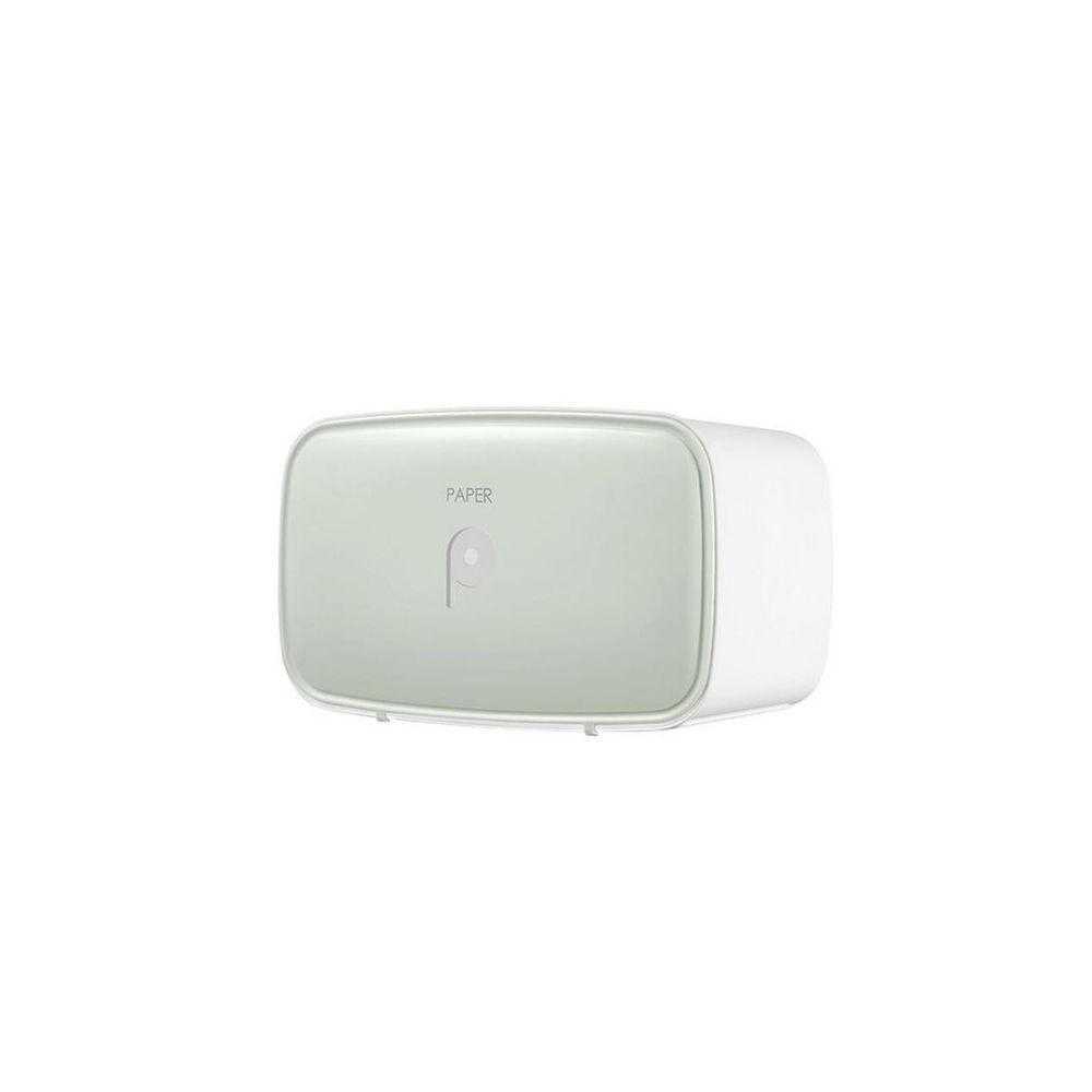 Wewoo Porte-papier hygiénique multifonctions imperméable avec porte-tablette de rangement vert