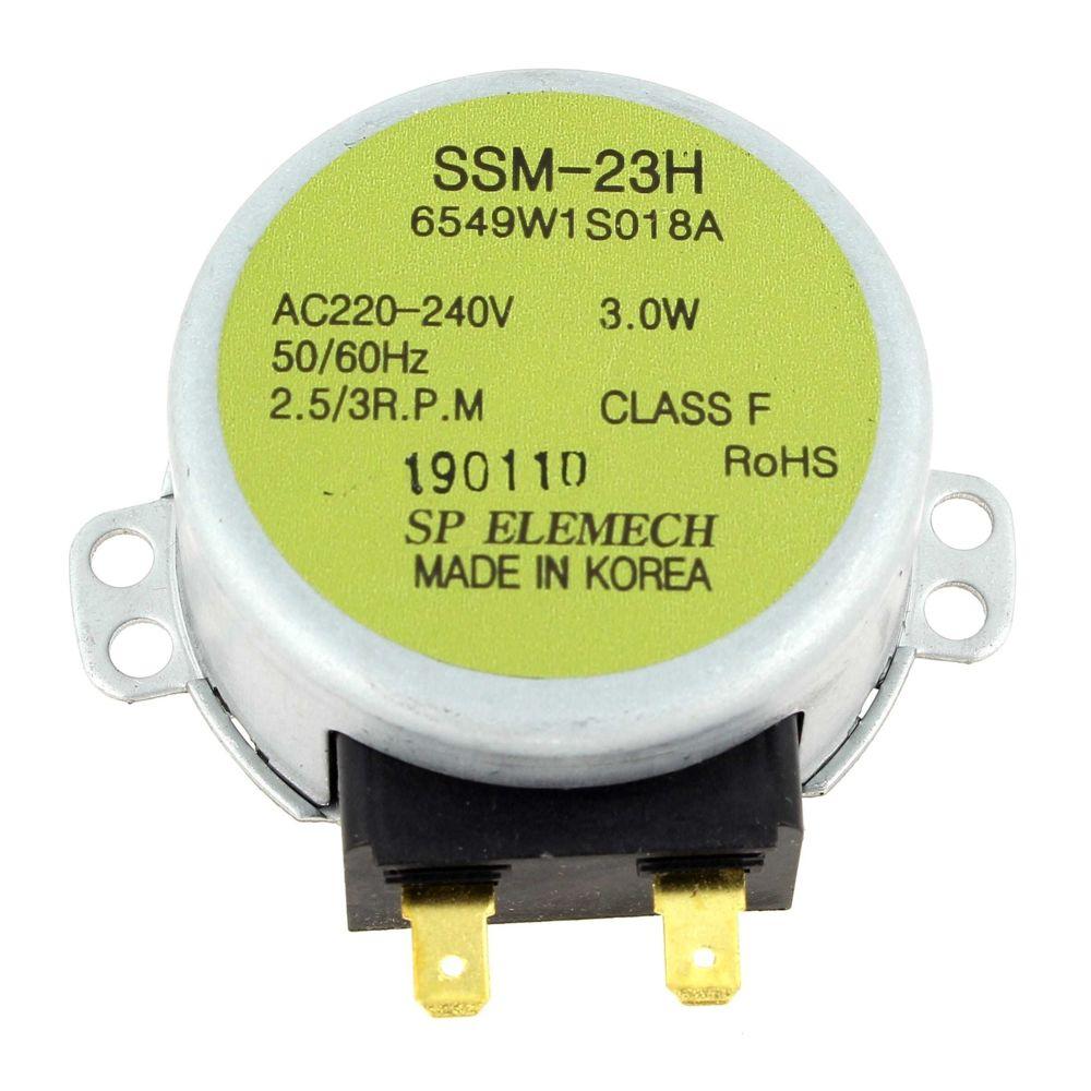 Siemens Moteur plateau ssm-23h 6549w1s018a pour Micro-ondes Bosch, Four Siemens, Micro-ondes Siemens, Micro-ondes Neff, Micro-on