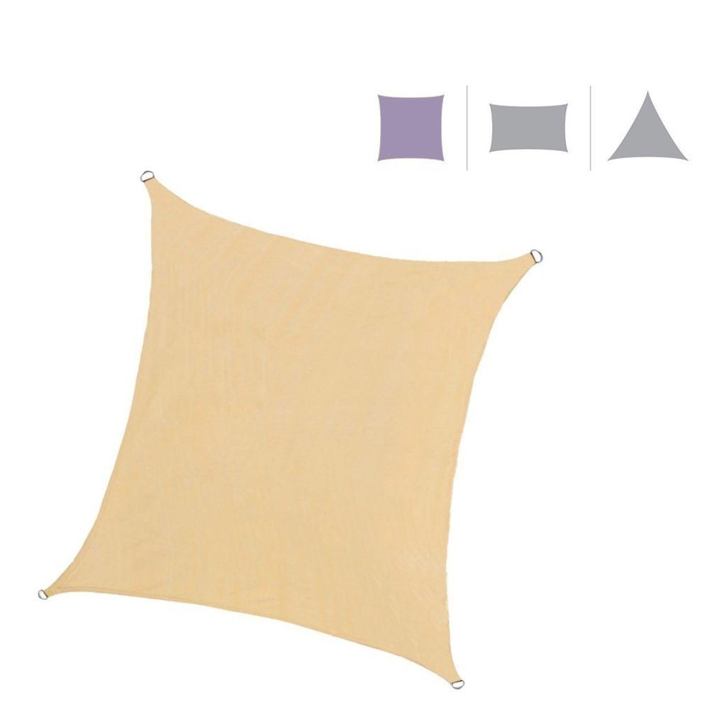 Mobili Rebecca Voile d'Ombrage Parasol Rectangulaire Polyéthylène Filtre UV 2x3