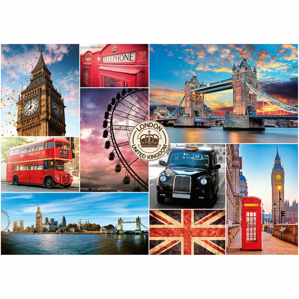 Nathan Puzzle 1000 pièces : Visite de Londres