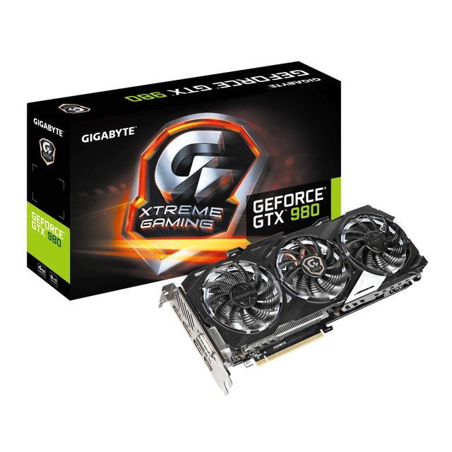 Gigabyte - GeForce GTX 980 XTREME GAMING  4 Go DDR5 - Carte Graphique NVIDIA