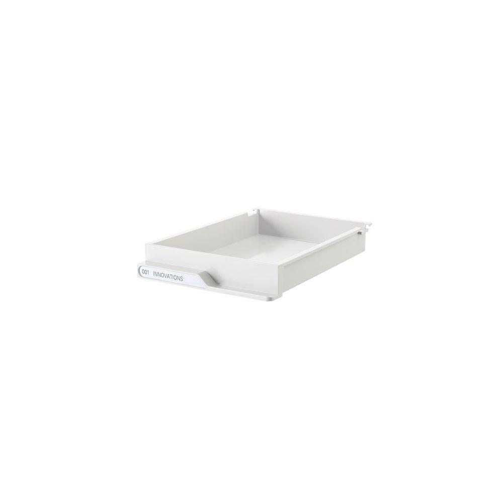 Clen Lot de tiroirs blanc pour dessertes colonnes gamme Clen
