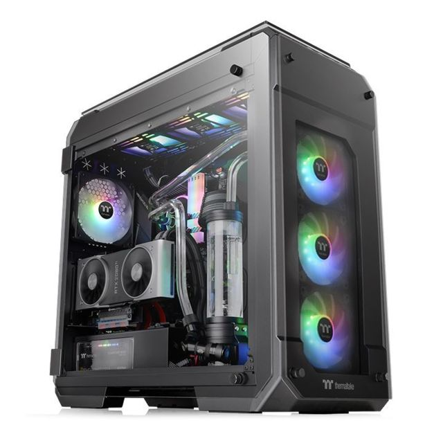 Thermaltake - THERMALTAKE View 71 Tempered Glass ARGB EDITION Thermaltake   - Boitier PC
