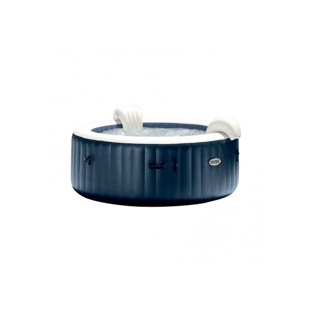 Intex - Spa gonflable 6 places bulles Blue navy Intex - Spa gonflable