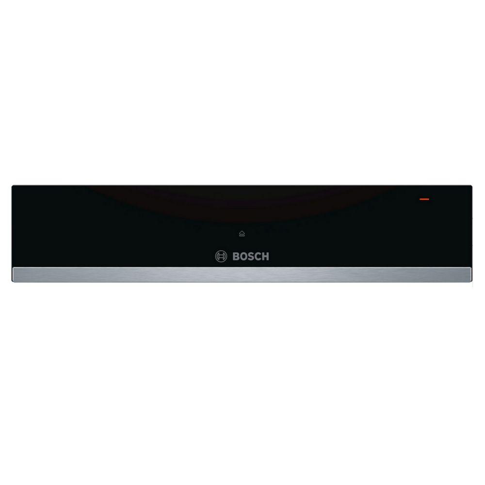 Bosch bosch - tiroir chauffant 14cm noir/inox - bic510ns0
