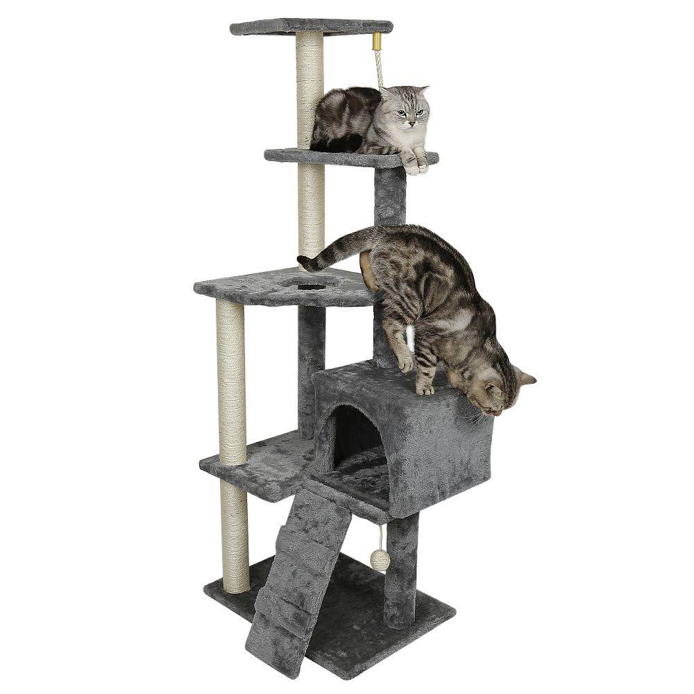 Ltppstore sublime Accessoires pour chats ligne Arbre à chat et griffoir Sisal 160cm