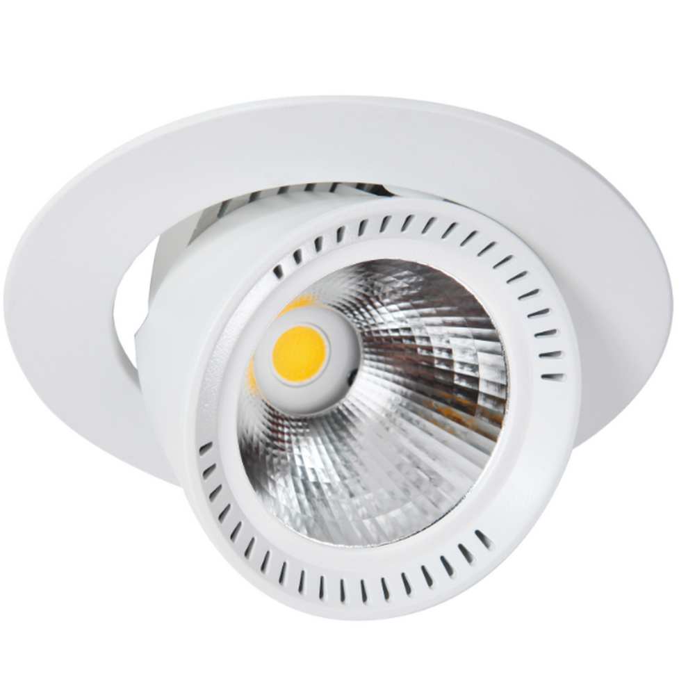 Lival LIVAL LEAN DL MINI 19MAB126 - Spot encastrable au plafond à LED rond orientable