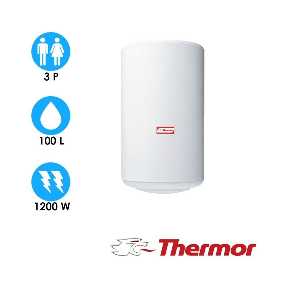 Thermor Chauffe eau stéatis - 100l - vertical mural - thermor