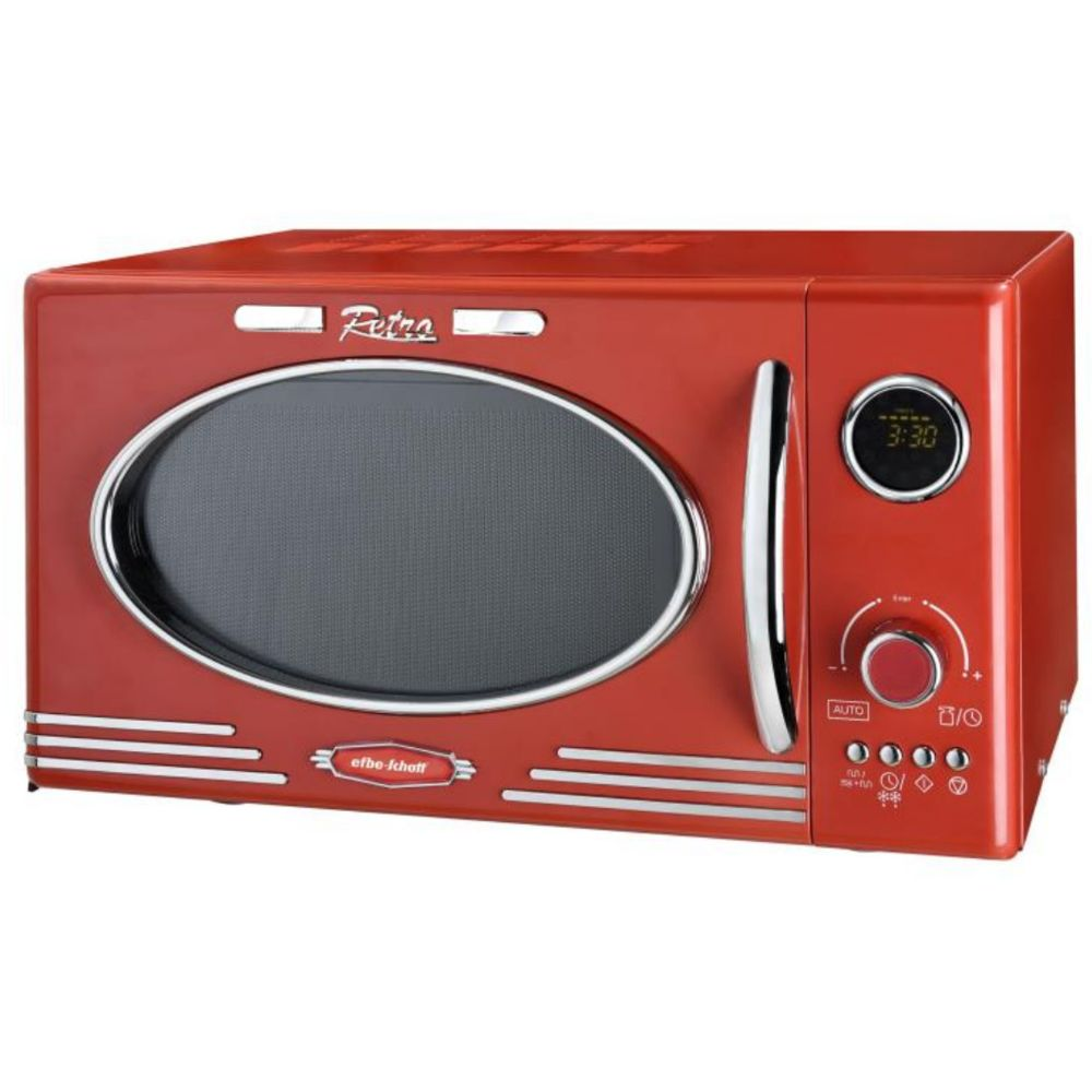 Efbe-Schott efbe-schott - Micro-ondes + grill 25l 1000w rouge - scmw2500dgr