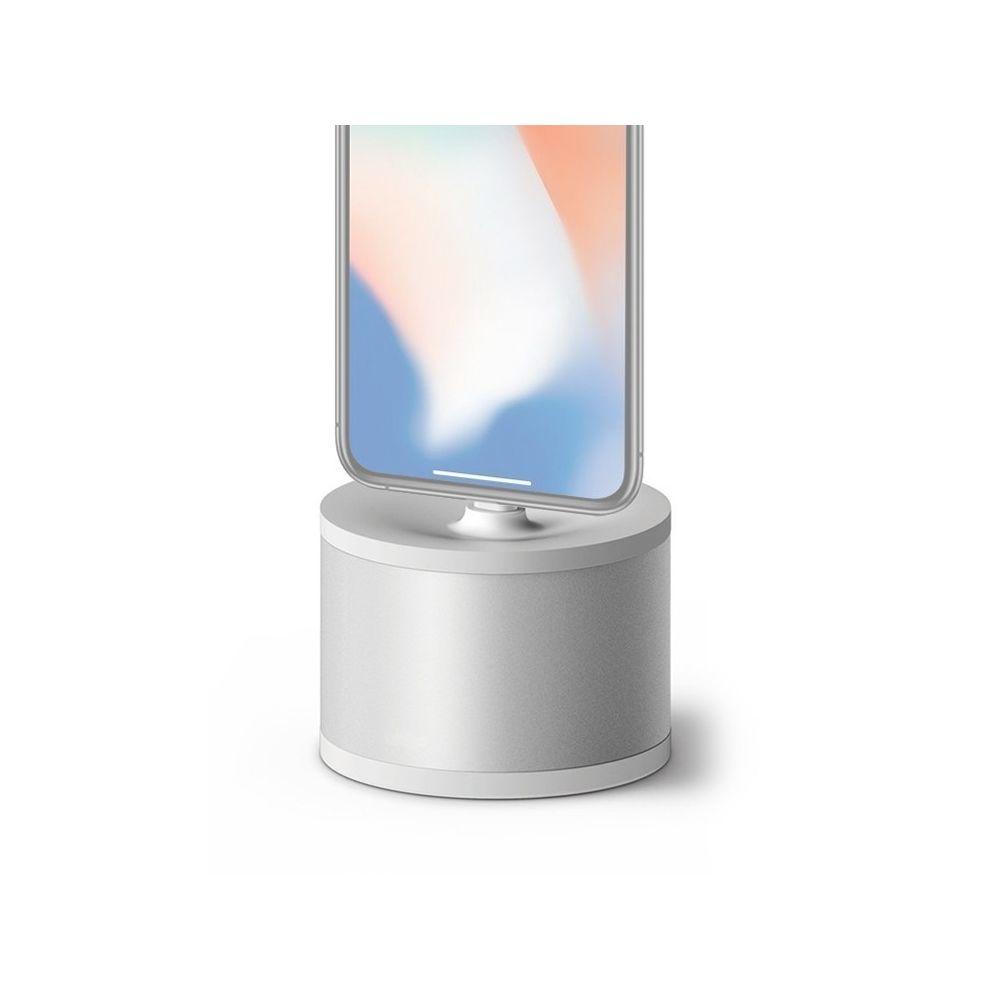 Wewoo Support de charge universel en métal de téléphone portable alliage d'aluminium de de base de de bureau pour iPhone gris