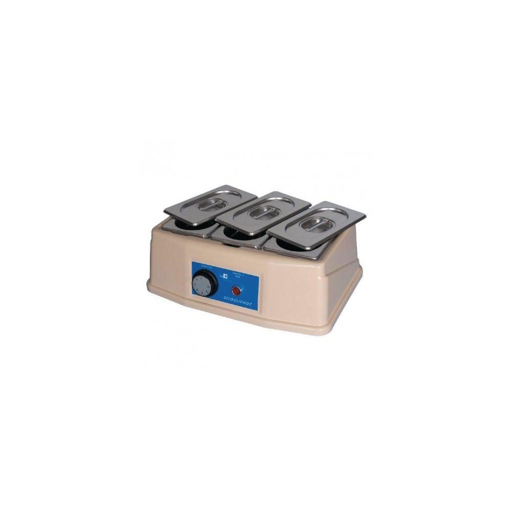 Materiel Chr Pro Bain-marie à chocolat 3 x 0.8 L -