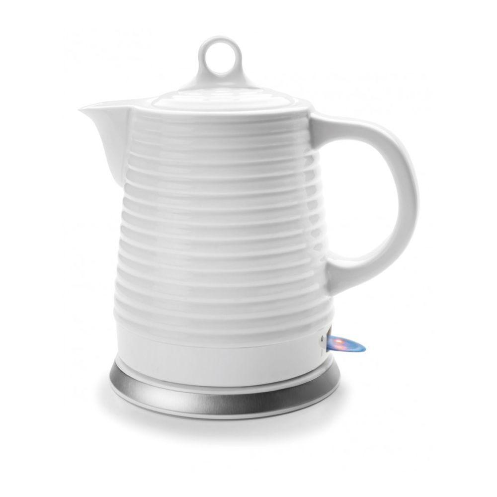 Lacor lacor - bouilloire sans fil 1.35l 1500w blanc - 69276