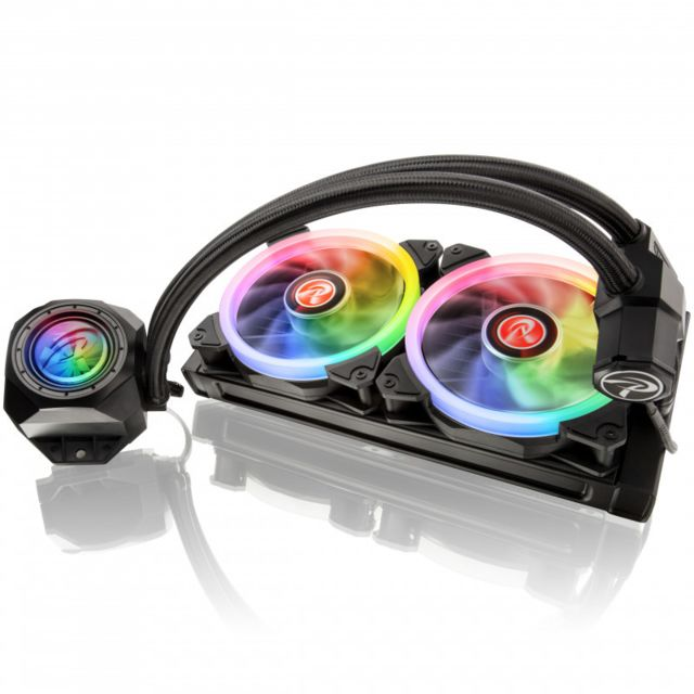 Raijintek - Orcus RGB Rainbow  - 240mm - Bonnes affaires Watercooling