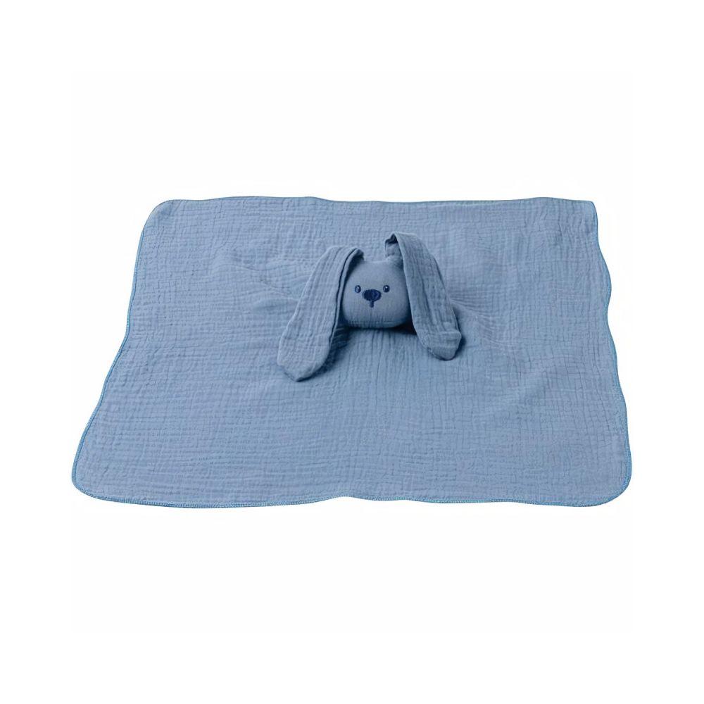 Nattou NATTOU Doudou tissu lange - Bleu