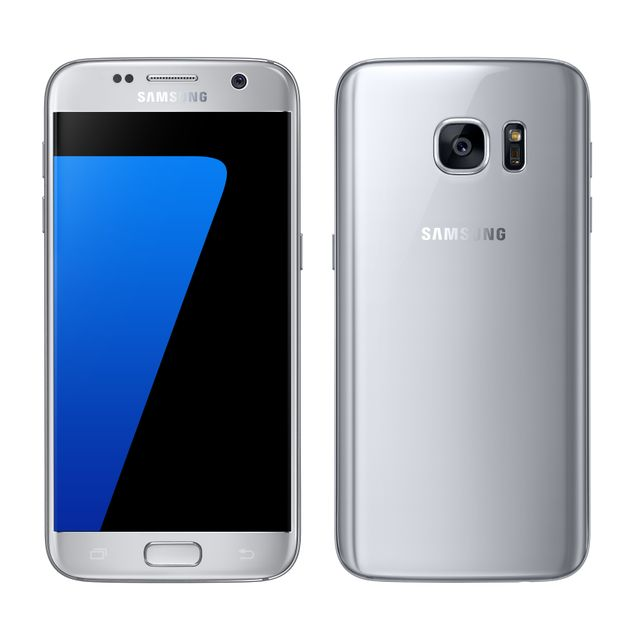 Samsung - Galaxy S7 Silver Samsung   - Smartphone 5 pouces
