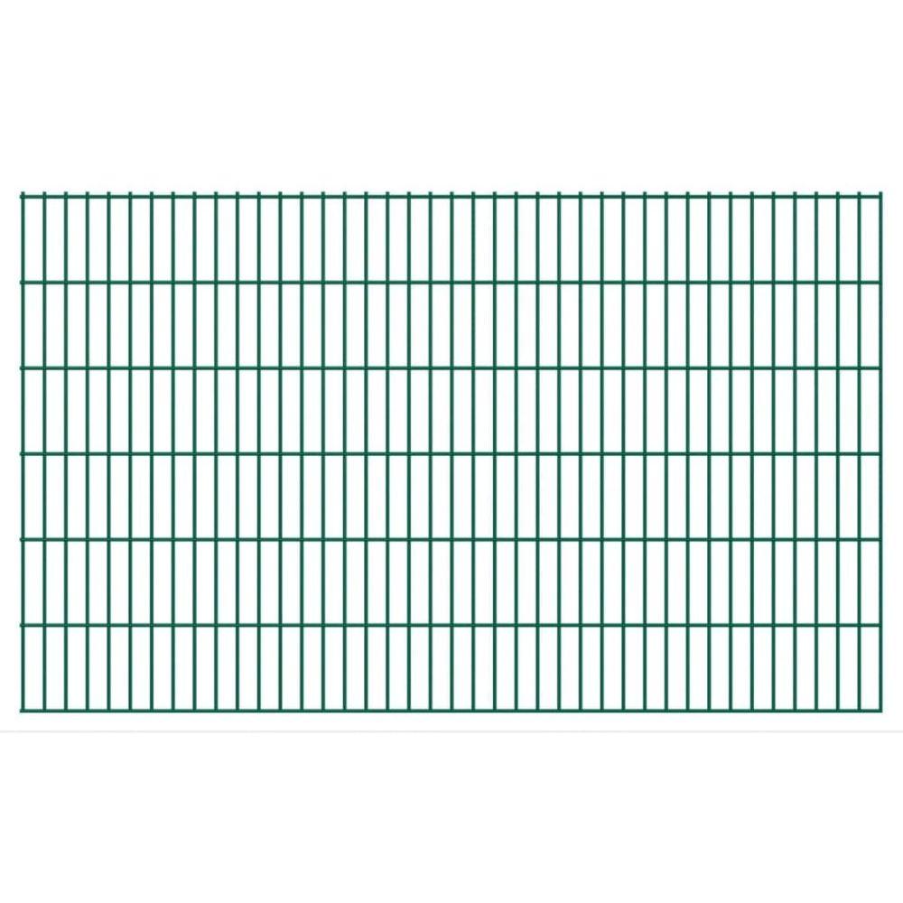 Uco UCO Panneaux de clôture 2D pour jardin 2008x1230 mm 10 m Vert