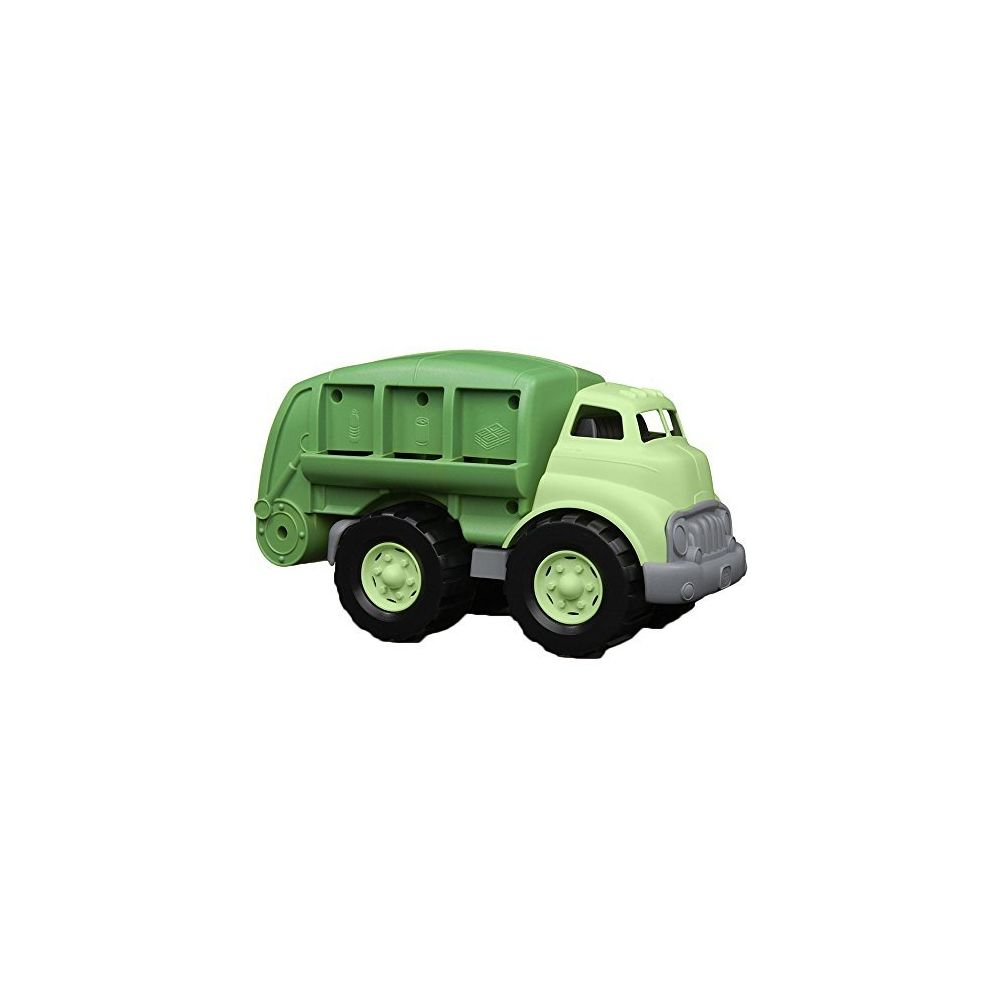 Green Toys Green Toys Recycling Truck in Green Color - BPA Free Phthalates Free Garbage Truck for Improving Gross Motor Fine Motor