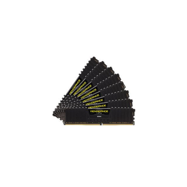 Corsair - CORSAIR Vengeance LPX Series Low Profile 128 Go (8x 16 Go) DDR4 3800 MHz CL19 Corsair   - RAM PC
