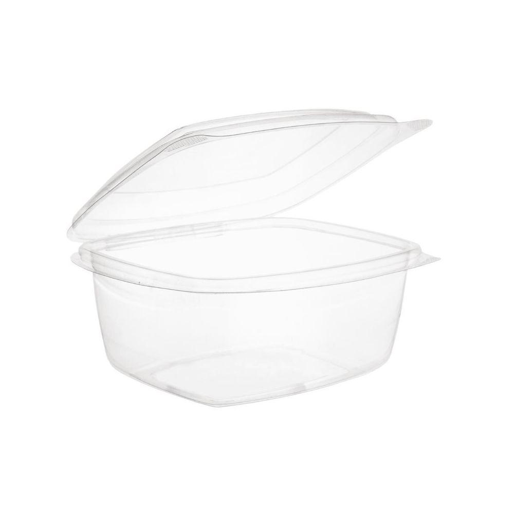 Materiel Chr Pro Barquettes à Charnière Compostables en PLA 473 ml - Lot de 300 - Vegware - 0 cm Acide polyactique (PLA)