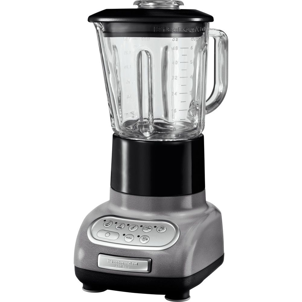 Kitchenaid blender mixeur électrique de 1,5L 550W gris étain