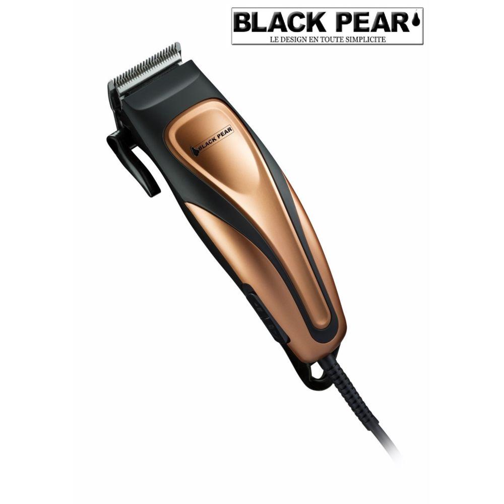 Blackpear Kit Professionel Tondeuse Grande Précision Cheveux / Barbe Lame Inox Avec Accessoires