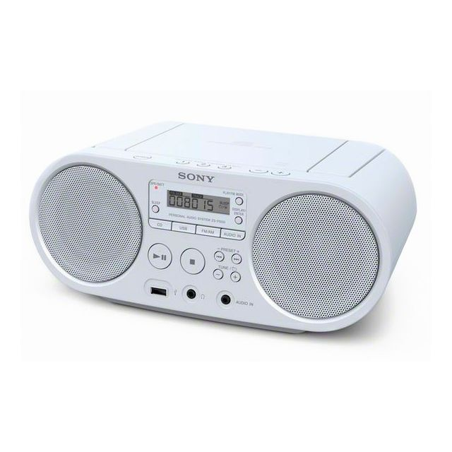 Totalcadeau - Radio portable MP3, WMA lecteur CD - Poste radio blanc Totalcadeau   - Tablette tactile Totalcadeau