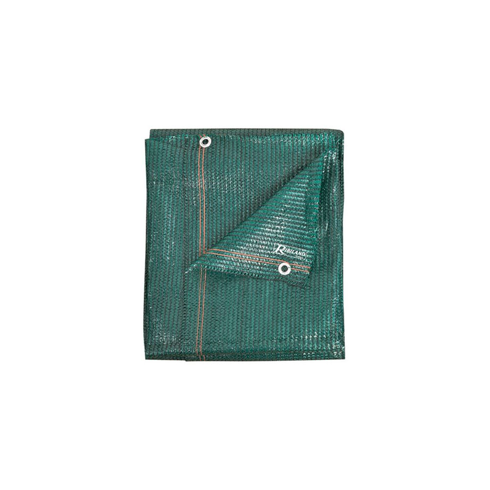 Ribiland Brise vue 1,8 m x 10 m, 220 gr/m2, vert - PRBV22018X10V - Ribiland