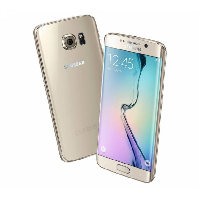 Samsung - Samsung G925F Galaxy S6 Edge 32 Go Gold - Smartphone 5 pouces