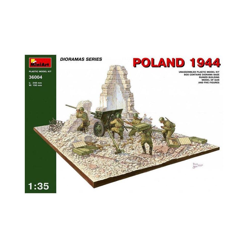 Mini Art Poland 1944 - Décor Modélisme
