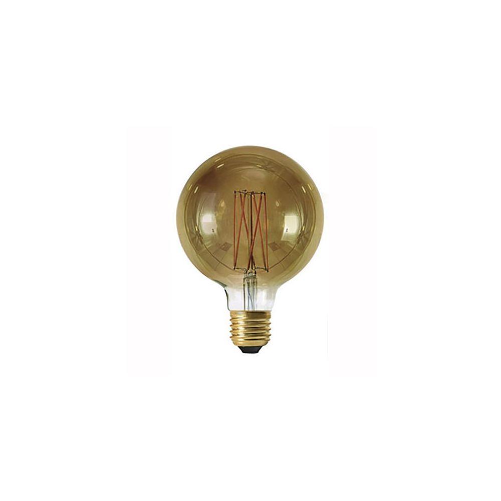 Girard Sudron Globe G125 filament LED 6W E27 2100K 300Lm dim Smoky