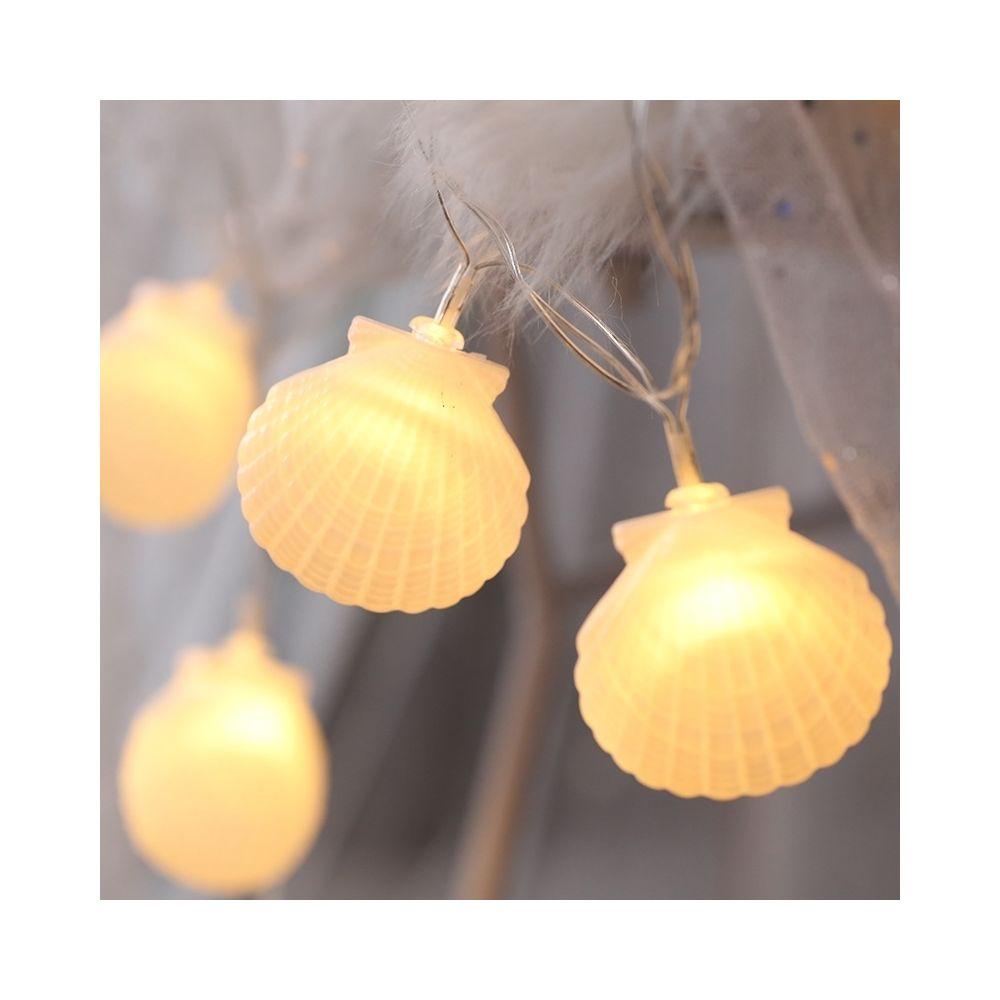 Wewoo Guirlande LED 3m en forme de coque prise USB romantique chaîne vacances lumière, lampe décorative fée style adolescente