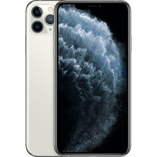 Apple - iPhone 11 Pro Max - 256 Go - MWHK2ZD/A - Argent Apple   - iPhone Iphone 11 pro max