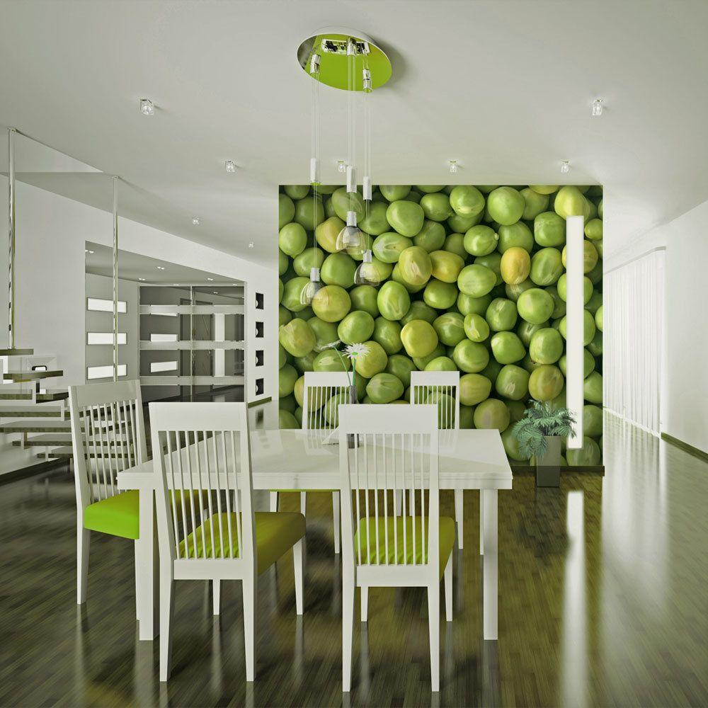 Bimago Papier peint   Passez au vert !   200x154   Motifs de cuisine  