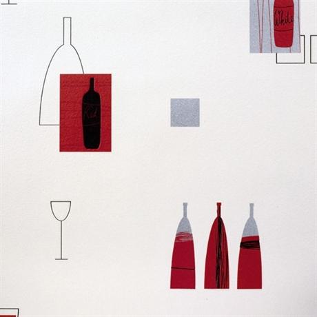 Papier peint cuisine rouge - pas cher Achat / Vente Papier peint ...