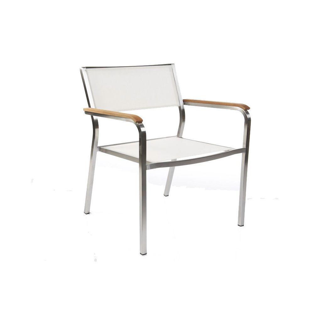 Jan Kurtz Fauteuil lounge empilable Lux XL - blanc