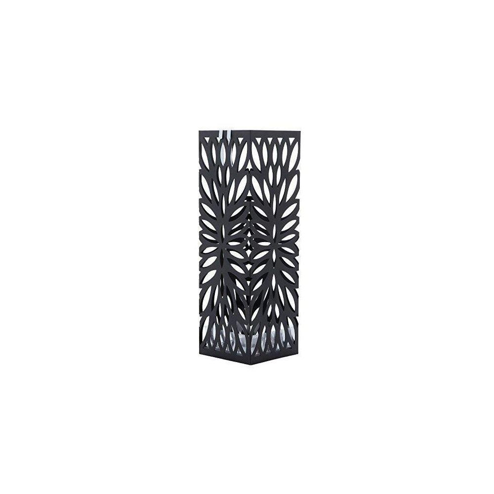 Helloshop26 Porte parapluies design pratique moderne métal noir élégant 3512026