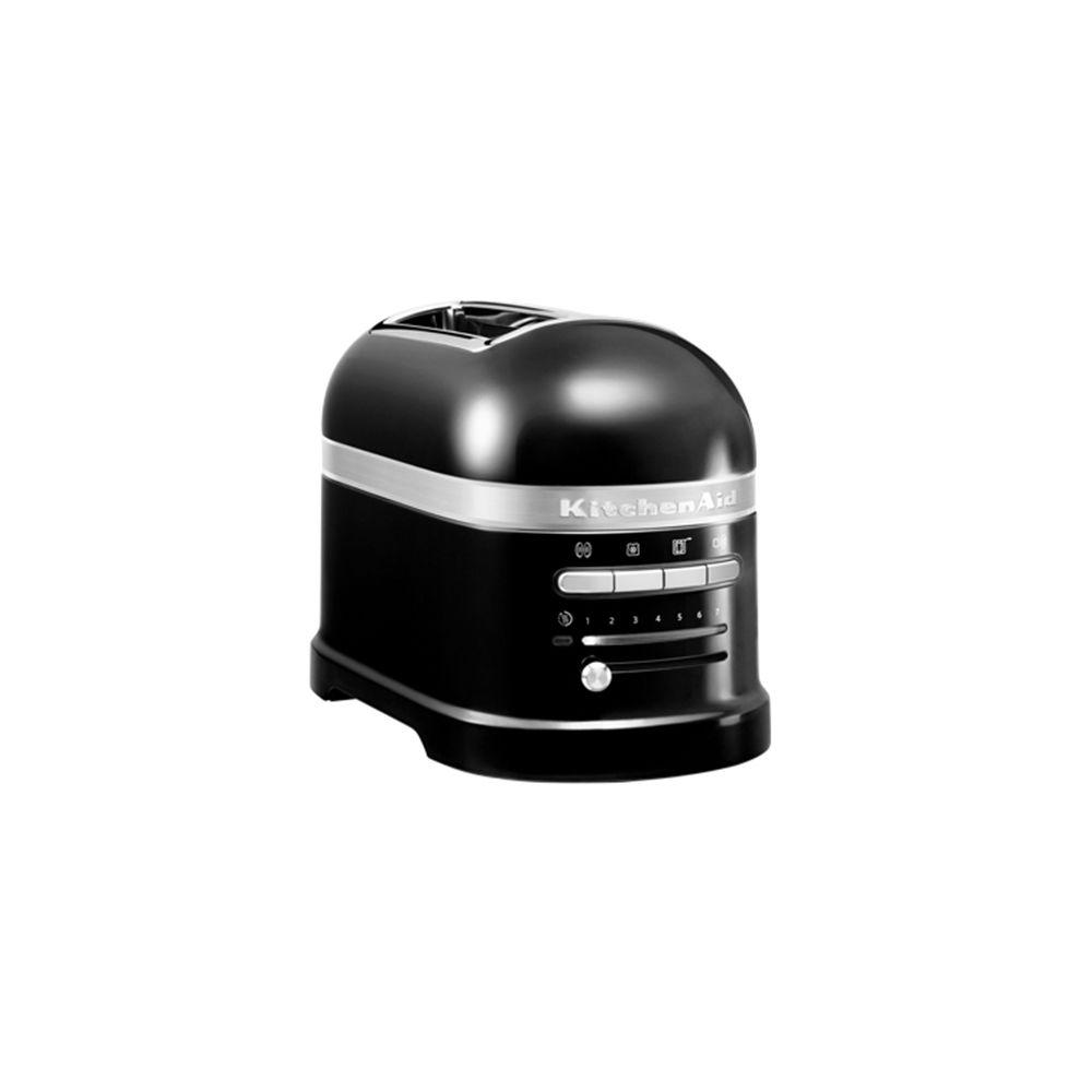Kitchenaid kitchenaid - grille-pains 2 fentes 1250w noir onyx - 5kmt2204 eob
