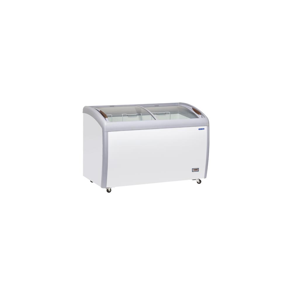 Materiel Chr Pro Congélateur Vitré Professionnel Porte Coulissante - 400 L - Cool Head - R290A