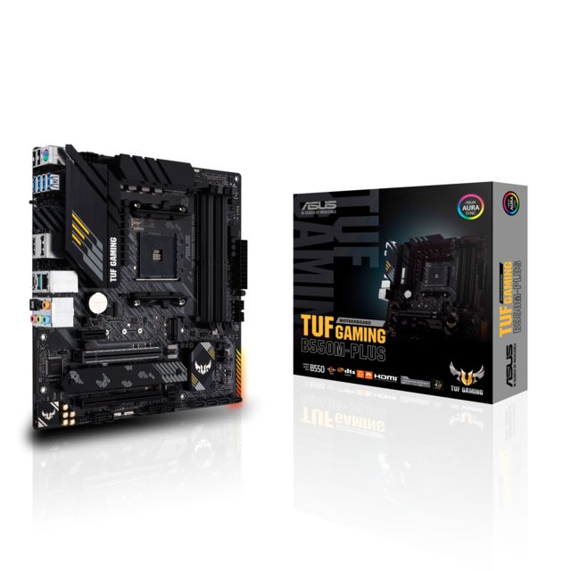 Carte mère AMD Asus AMD B550M-PLUS TUF GAMING - ATX