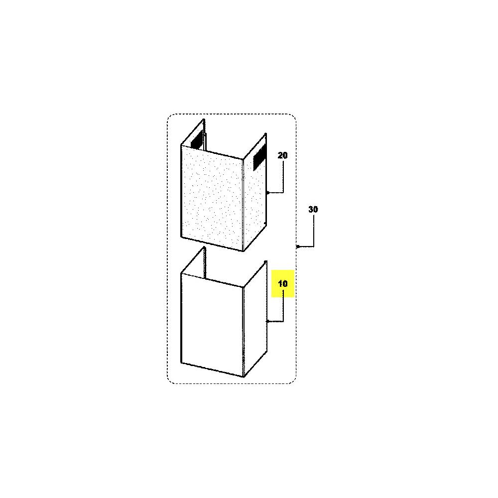 Hotpoint Cheminee Inferieure Inox reference : C00274353