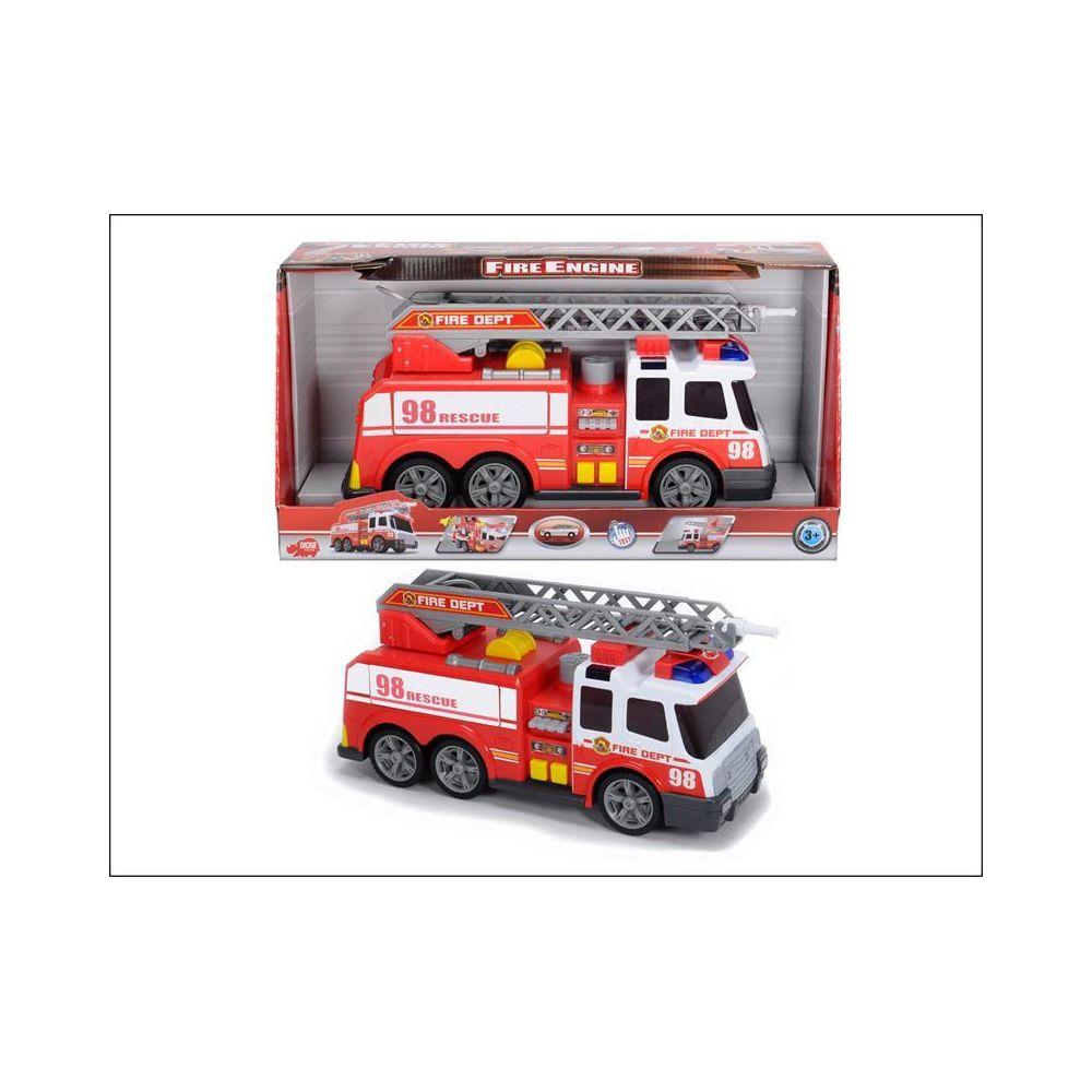 Dickie Dickie 203308358 Fire Brigade - Camion de pompiers avec fonction jet d'eau.