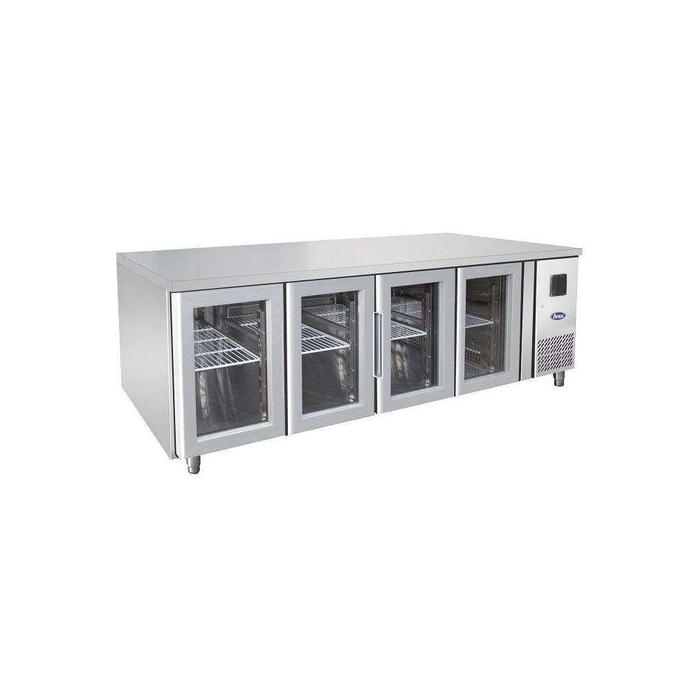 Atosa Table Réfrigérée Positive GN 1/1 - 2 à 4 Portes - Atosa - 3 Portes 2230x700 700