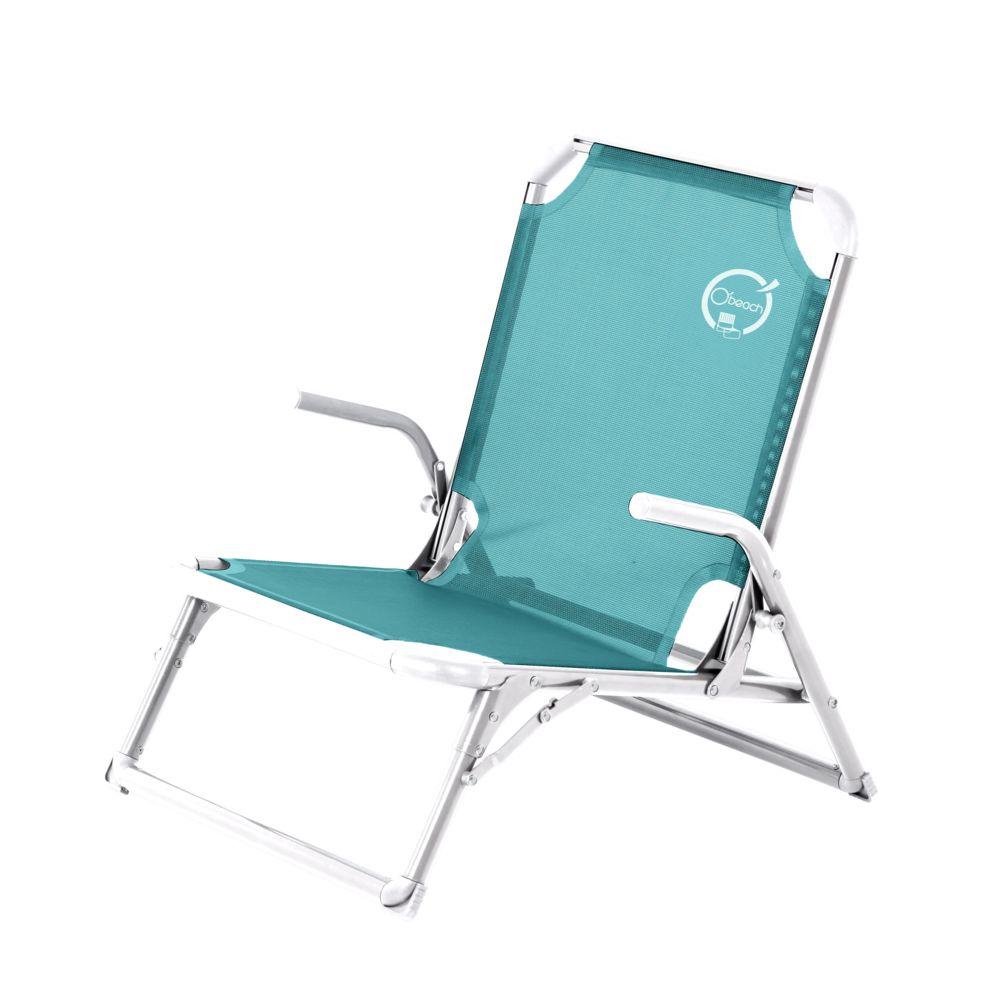 O'Beach Chaise de plage luxe - Structure Pliable et Confortable
