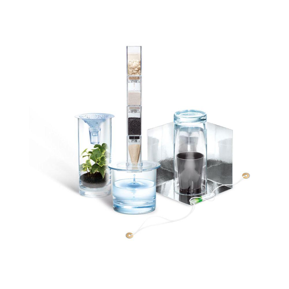 4M - Kidz Labs Kit de fabrication Green Science : Filtre à eau