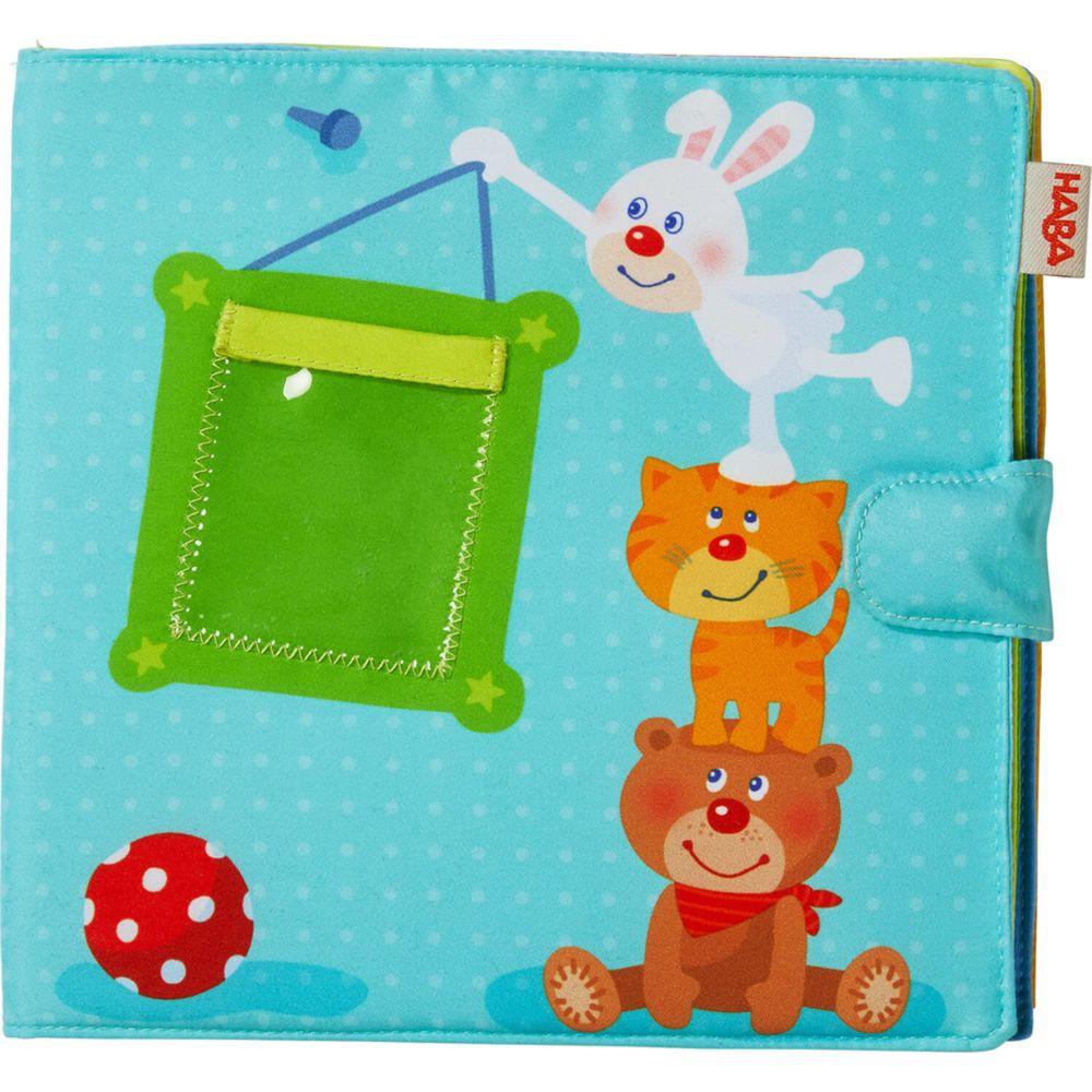 Haba Premier album photos pour bébé : Compagnons de jeu