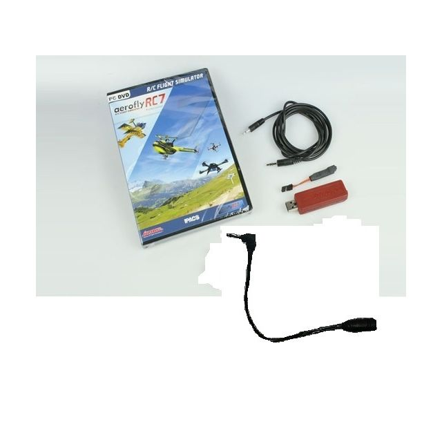 T2M - Aerofly RC7 Ultimate + interface Ikarus - Jeux PC